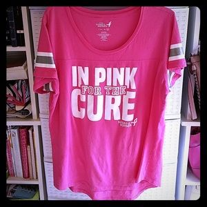 In Pink for the Cure T-shirt Size 2XL